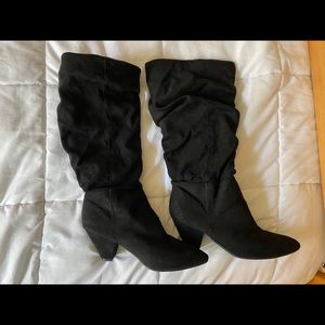 Black boots from Rue21